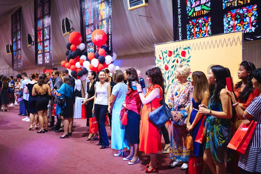В Алматы отметили французский праздник