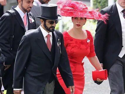 Жена Дубайского шейха скрывается в Англии