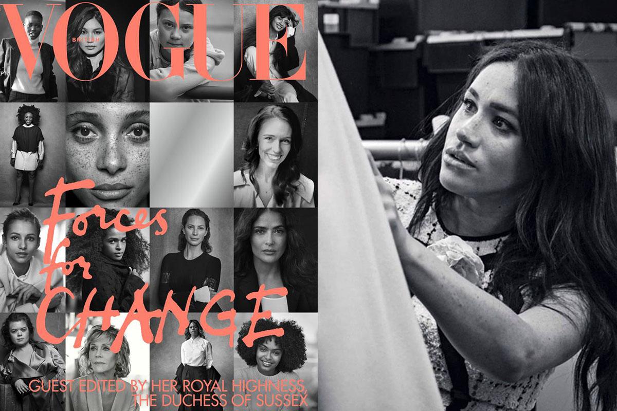 Сальма Хайек раскрыла секрет Меган Маркл: Vogue UK