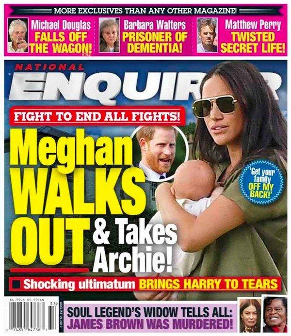 Меган Маркл сбежала из дворца
