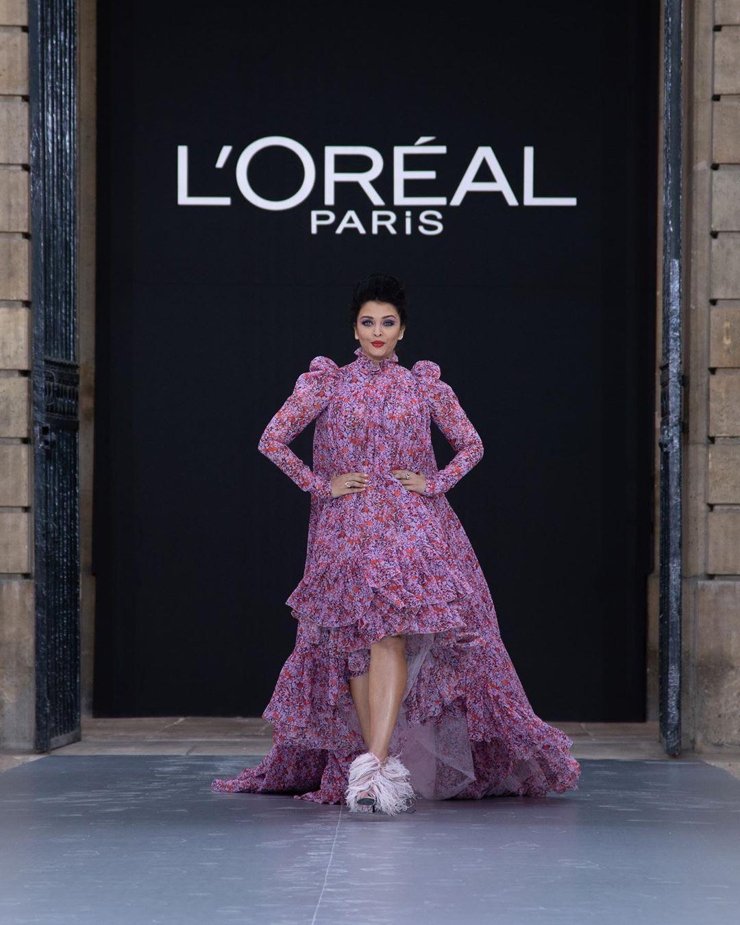 Звездное шоу L'Oréal