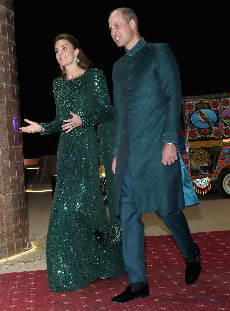 Образы Кейт в пакистанском туре