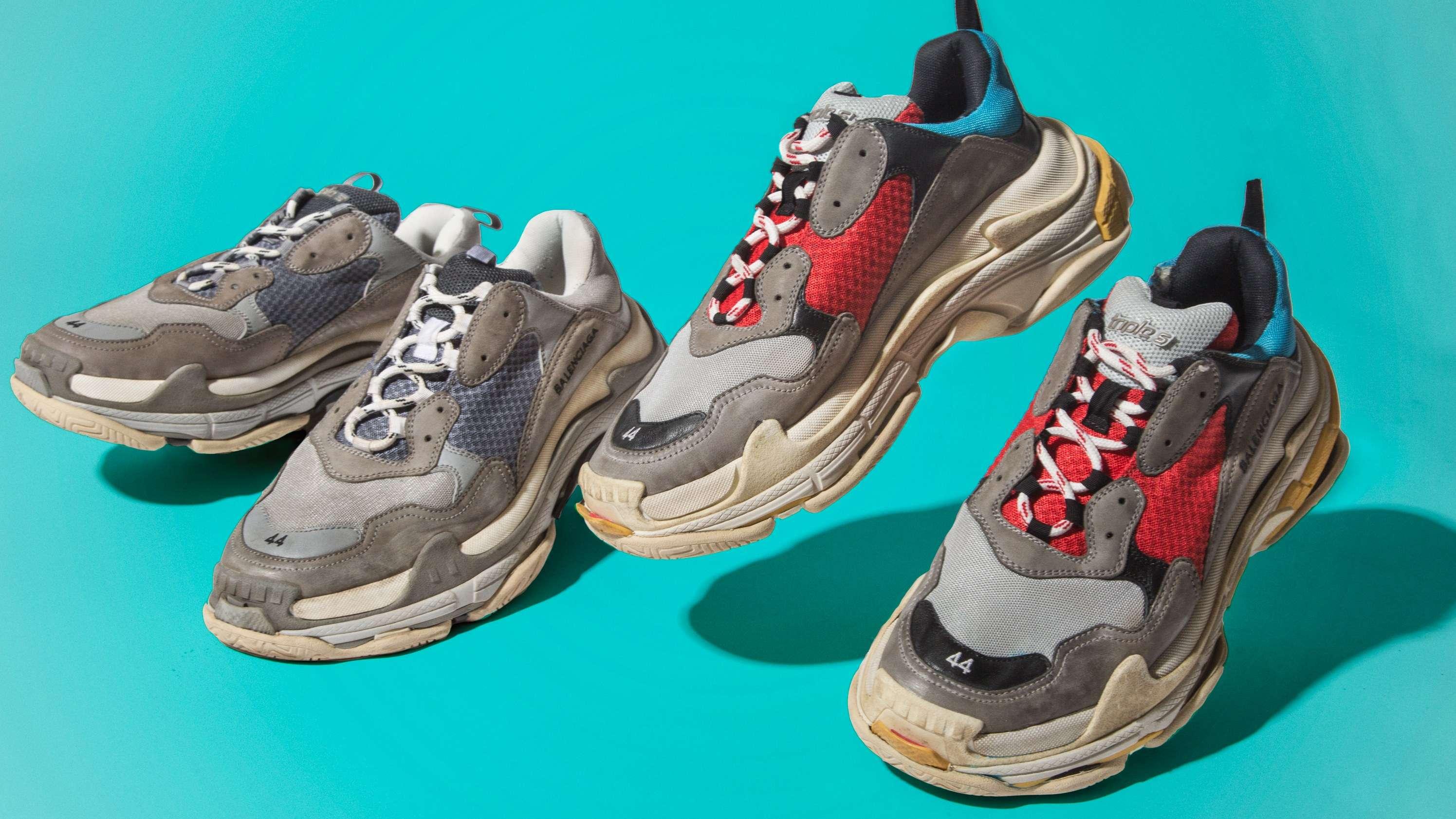 Грязные кроссовки — тренд сезона