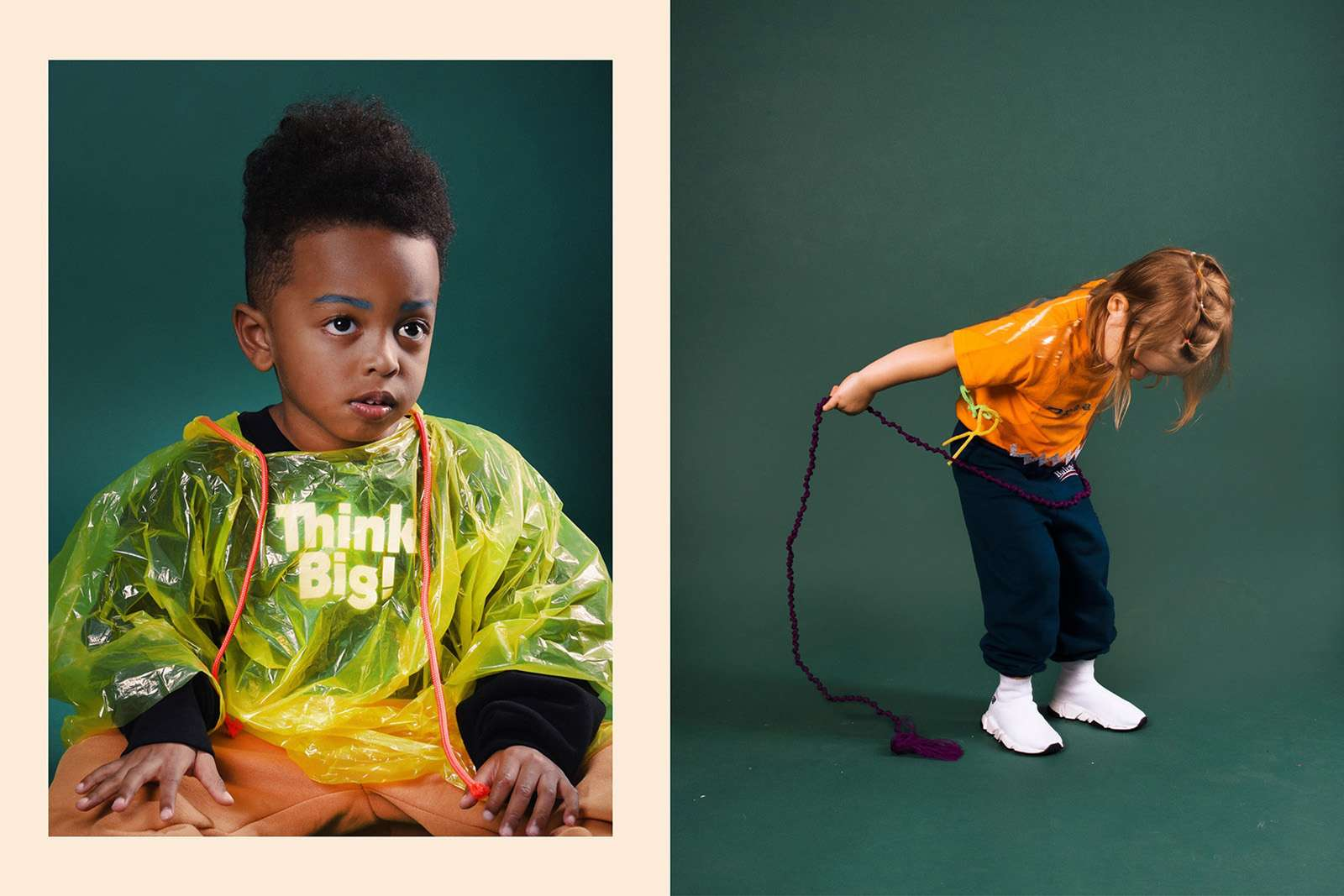 Balenciaga представили детскую линию одежды