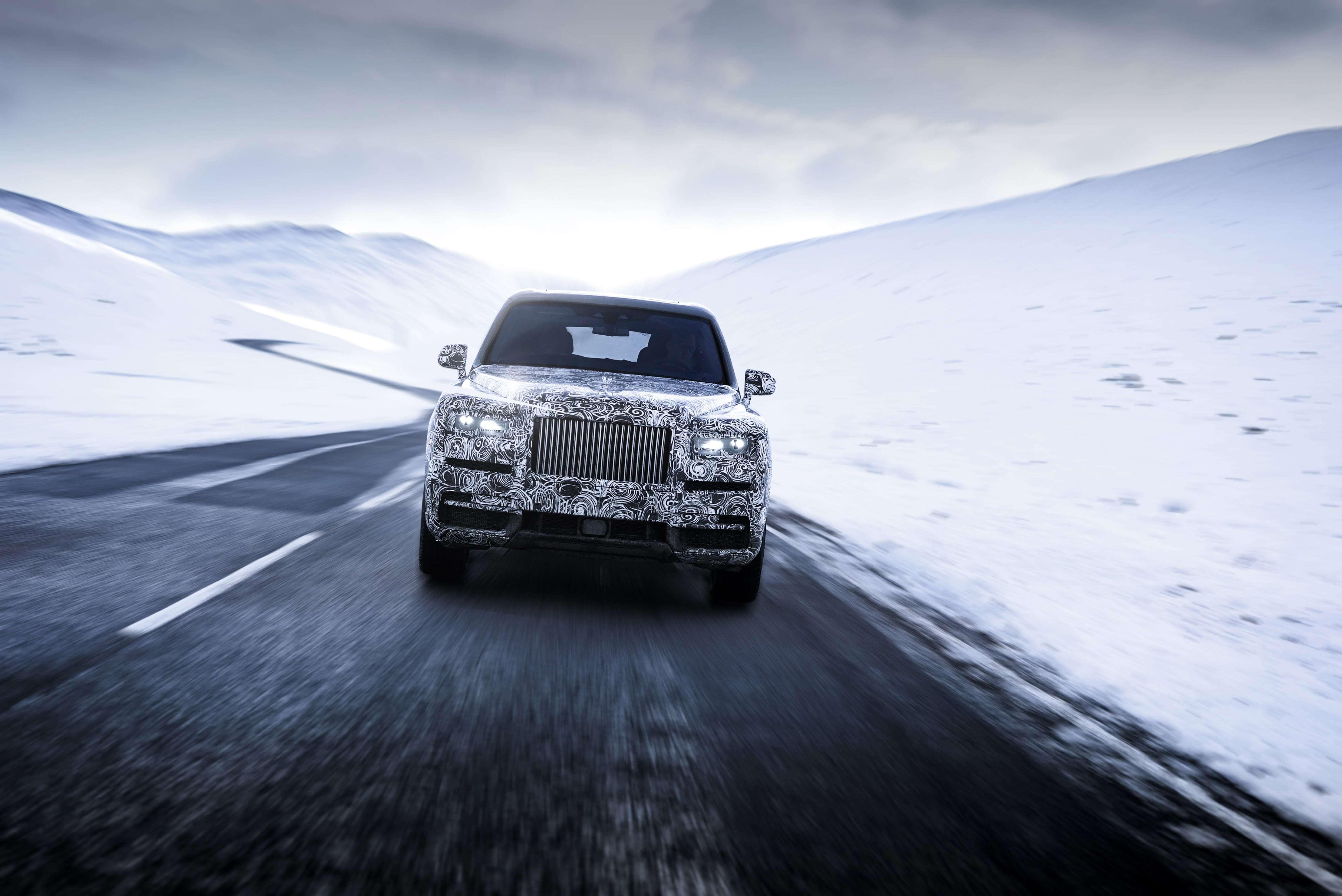 Cullinan Rolls-Royce
