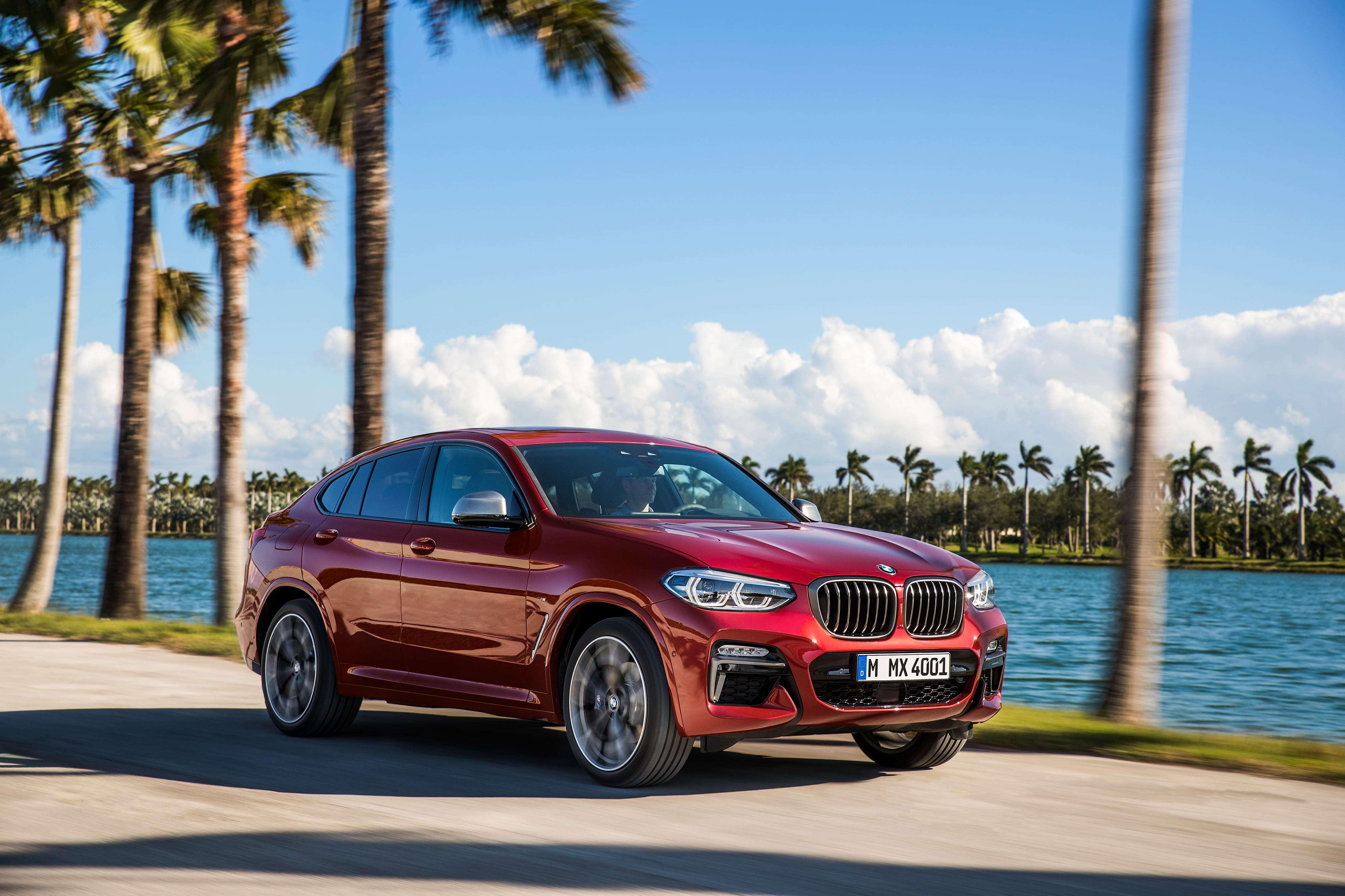Новый BMW X4 вышел на сцену