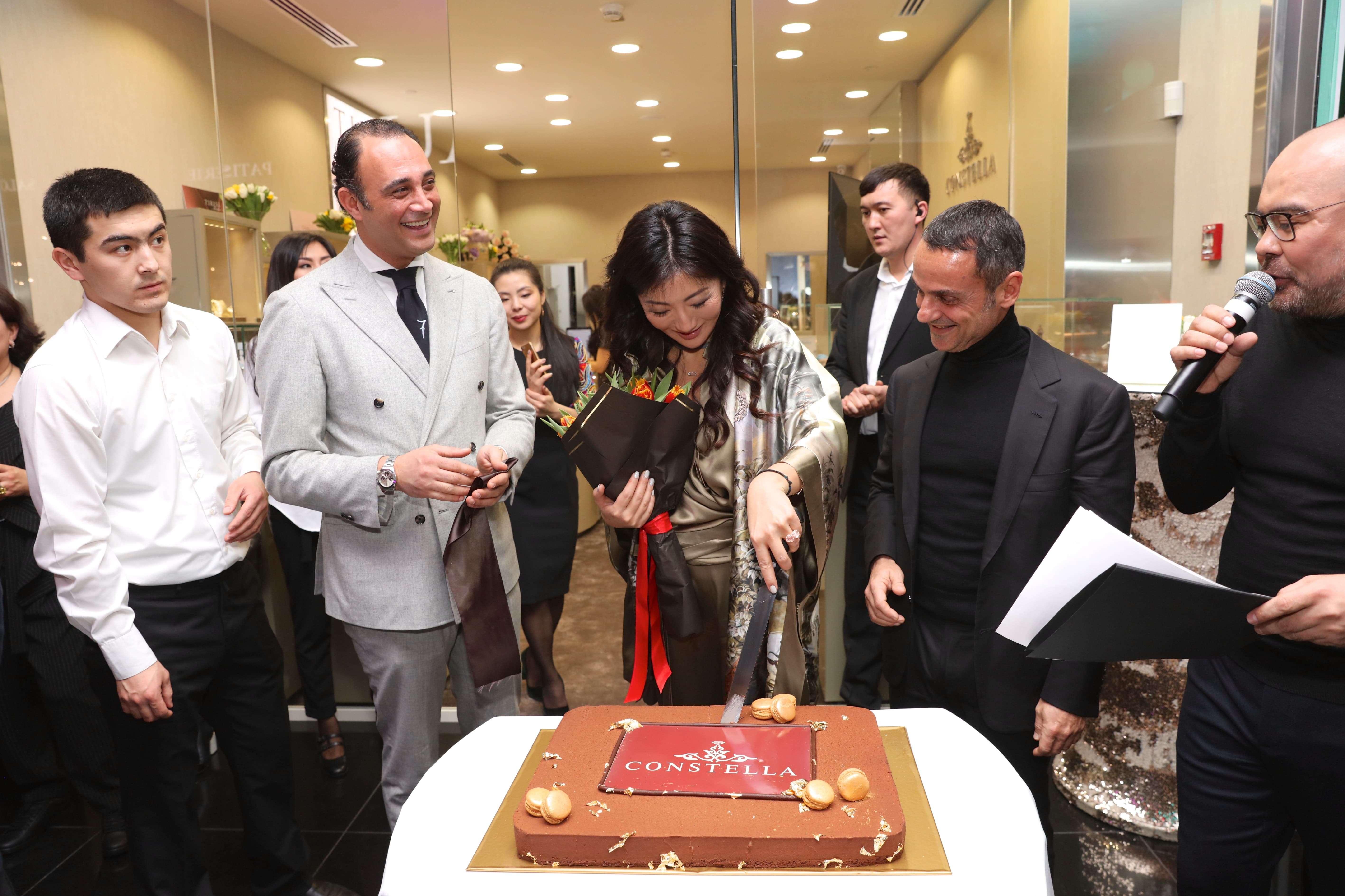 Открытие бутика Constella в Esentai Mall