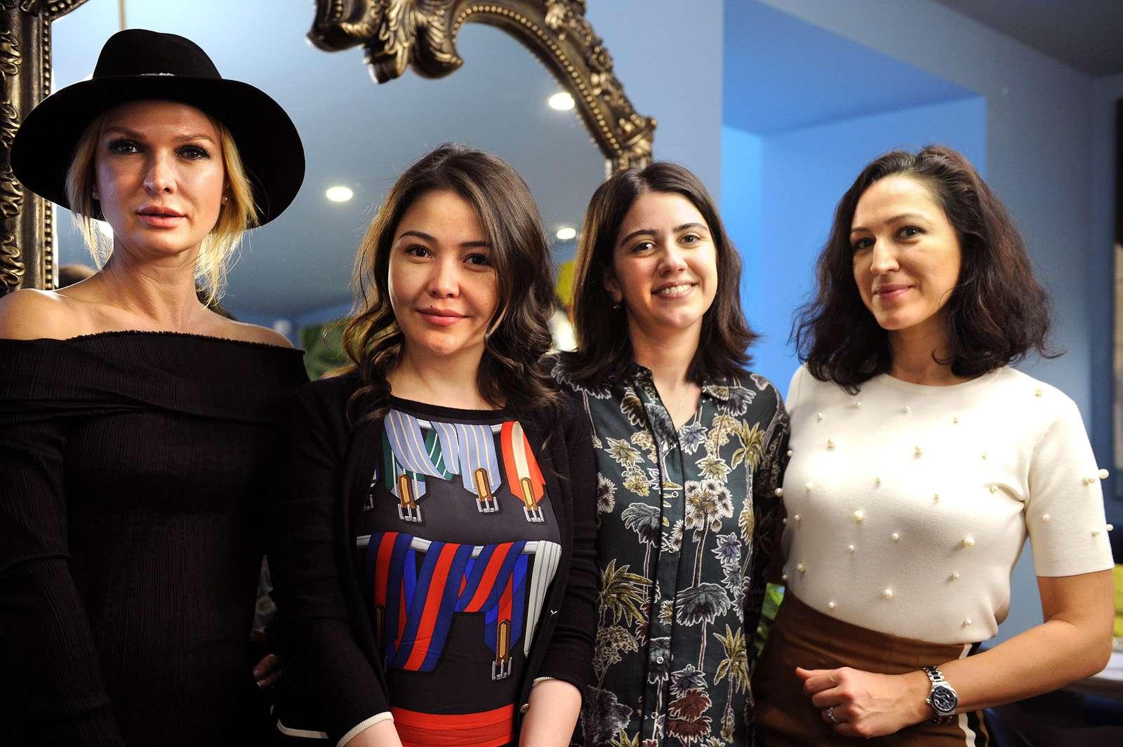 Дружеская встреча в честь открытия отеля Stamba в Тбилиси