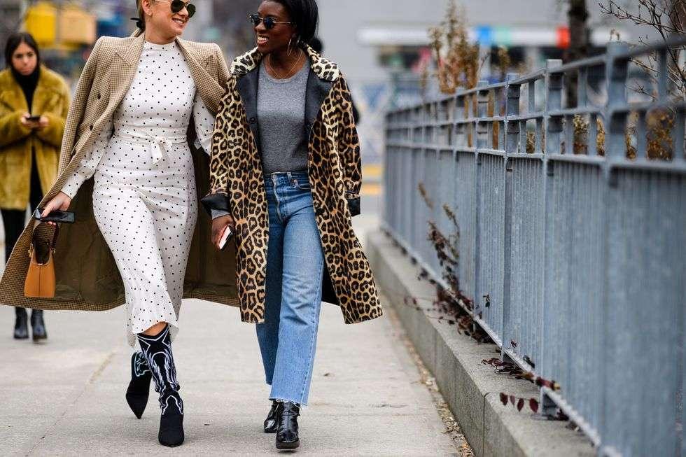 Уличная мода 2018
