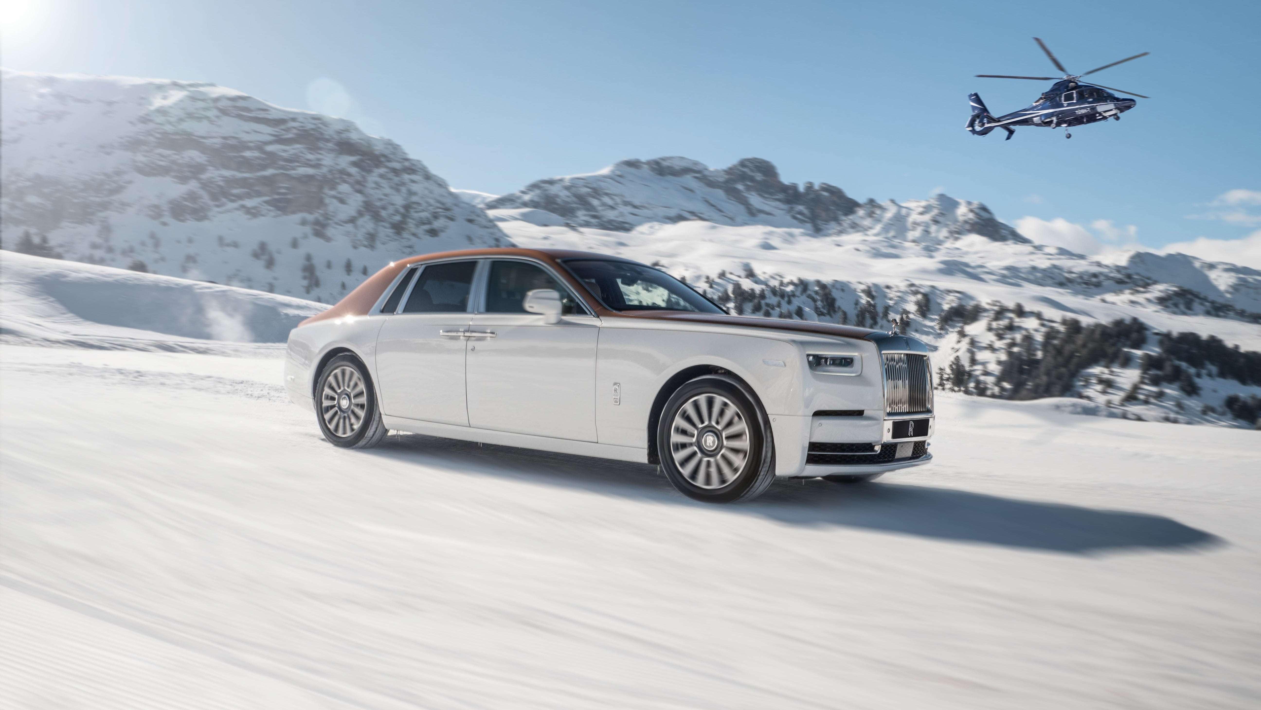 Зимние студии Rolls-Royce на курортах Куршевель