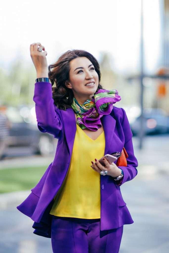 Айсулу Ахимова про цвет феминизма
