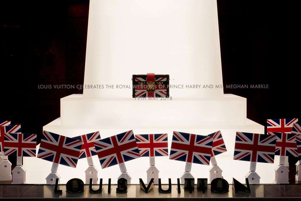 The royal wedding and Louis Vuitton
