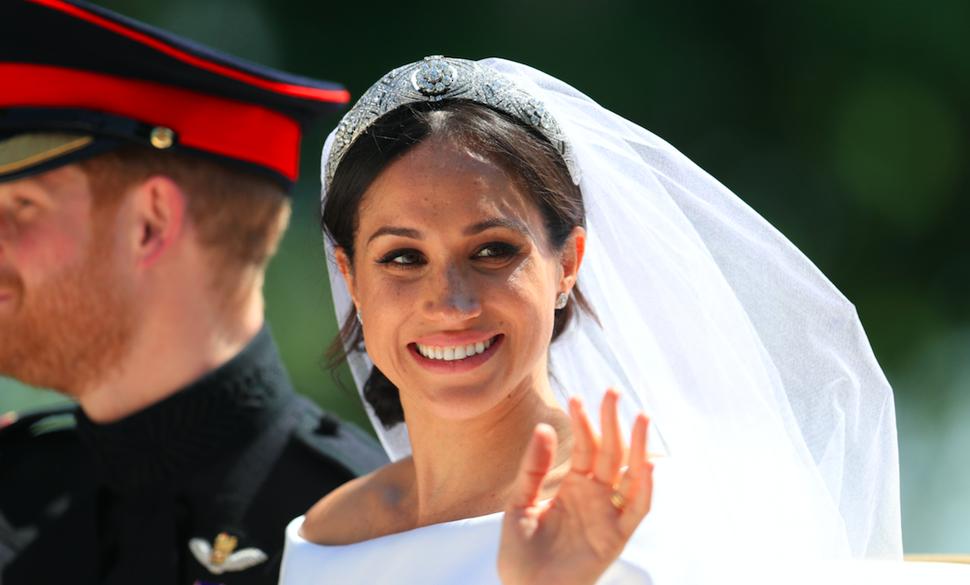 Свадебный макияж Меган Маркл