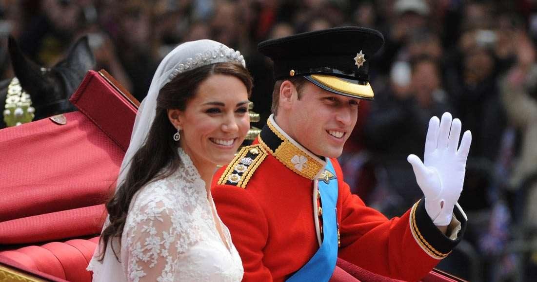Королевские свадьбы века