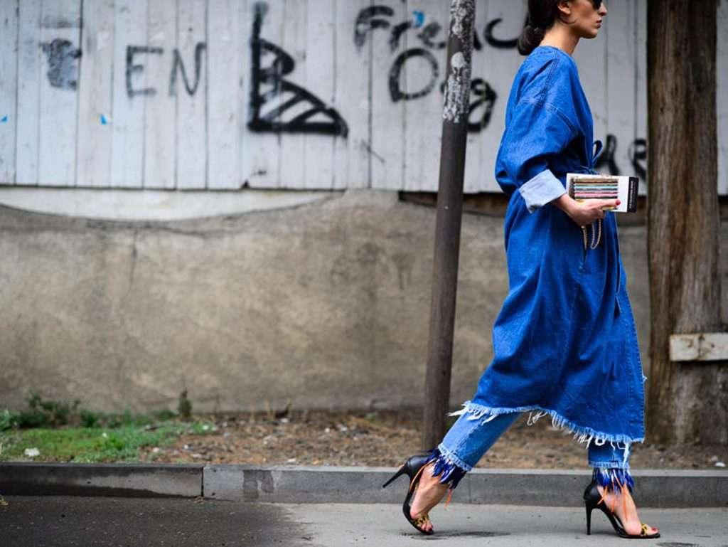 Фото джинсовые платья