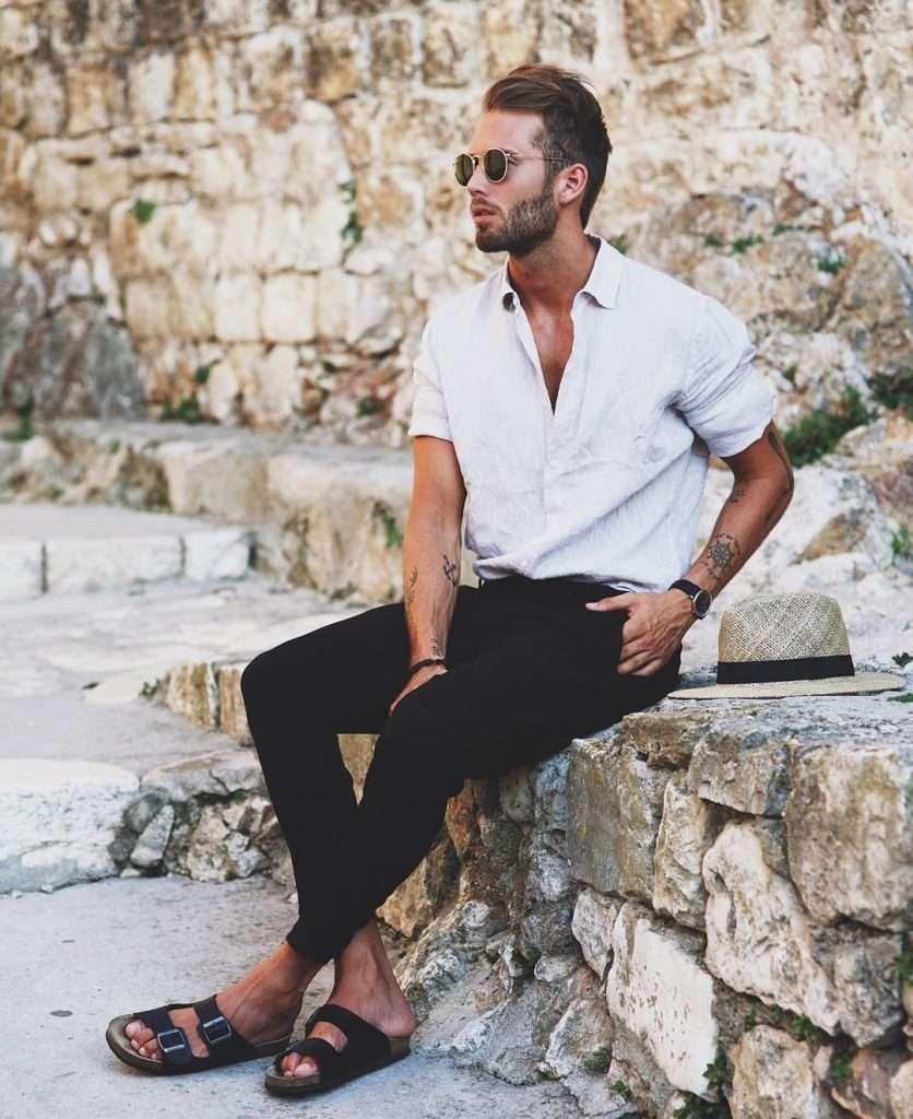 Летняя мужская обувь 2018