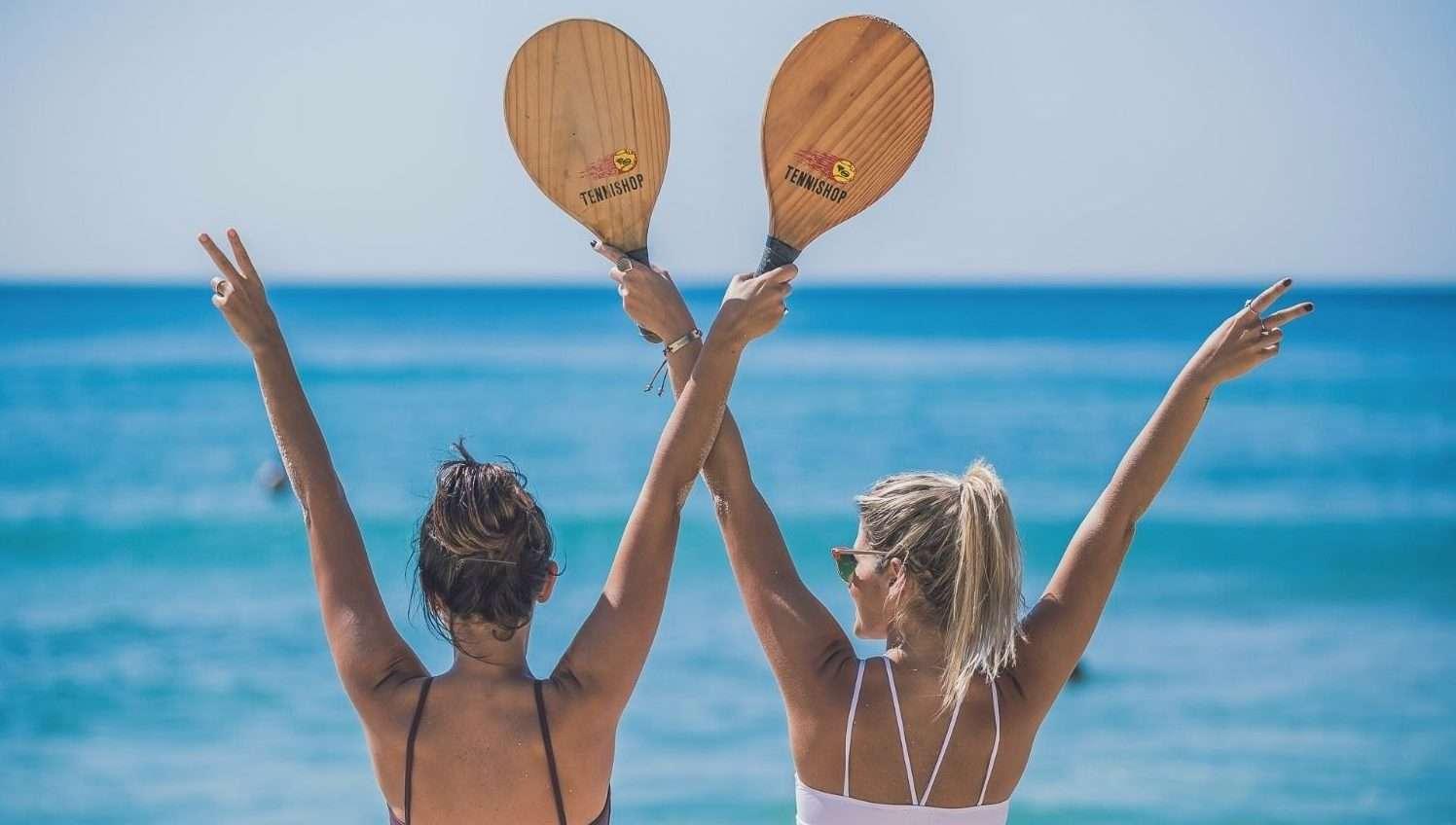 Фрескобол, маткот или пляжный теннис?