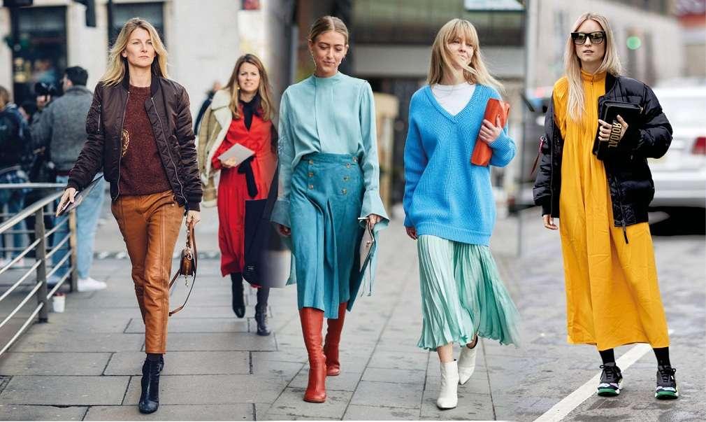 Мода осень зима 2018