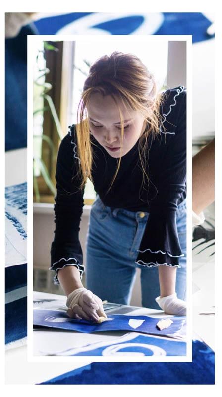 Cartier и молодые художники Казахстана.