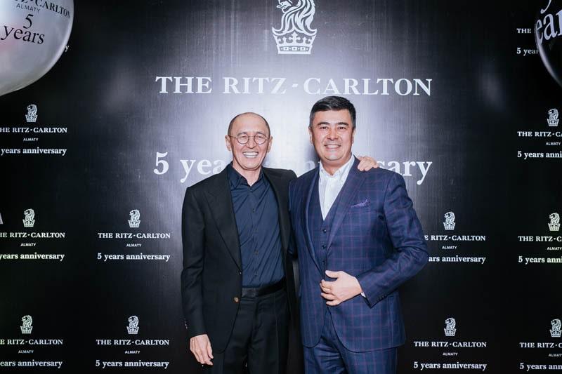 The Ritz-Carlton, Almaty отметил свое пятилетие.
