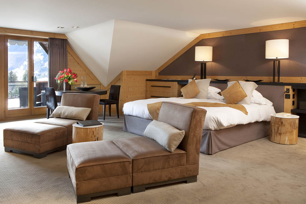 Исторический отель Park Gstaad