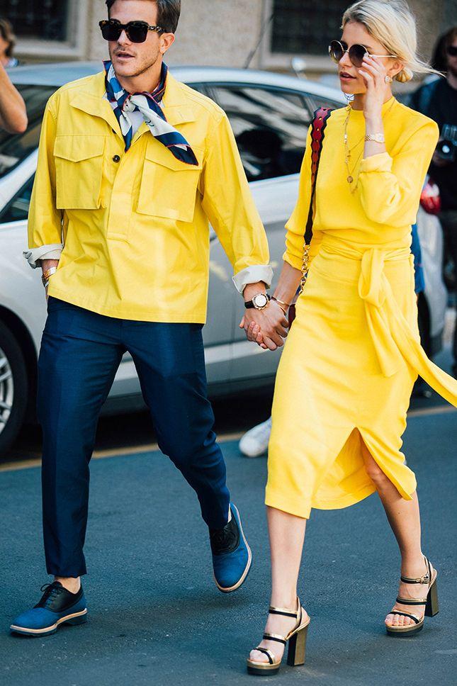 Цвет настроения желтый