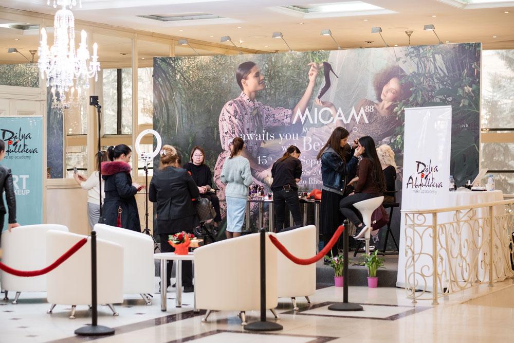 подарок. Участницы выставки высоко оценили такую прекрасную возможность накануне женского праздника 8 марта, что добавило бизнес мероприятию нотки красоты и весеннего настроения.